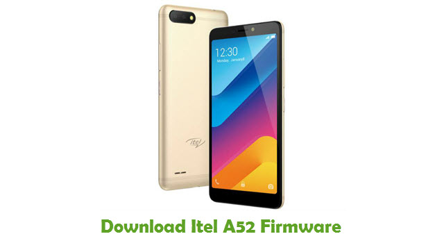 Download Itel A52 Stock ROM