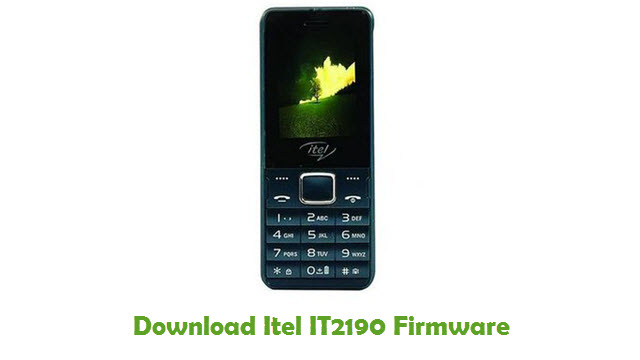 Download Itel IT2190 Firmware