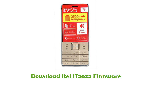 Download Itel IT5625 Firmware Flash File - FirmwaresPk