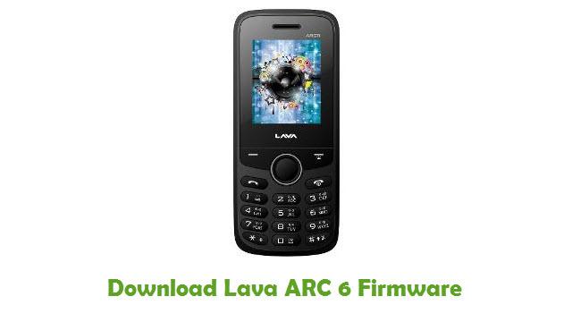 Lava ARC 6 Stock ROM