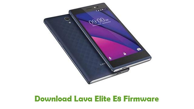 Lava Elite E8 Stock ROM