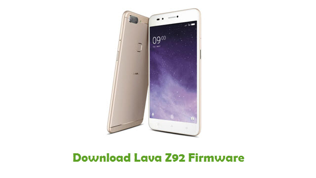 Download Lava Z92 Stock ROM