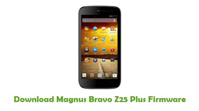 Magnus Bravo Z25 Plus Stock ROM