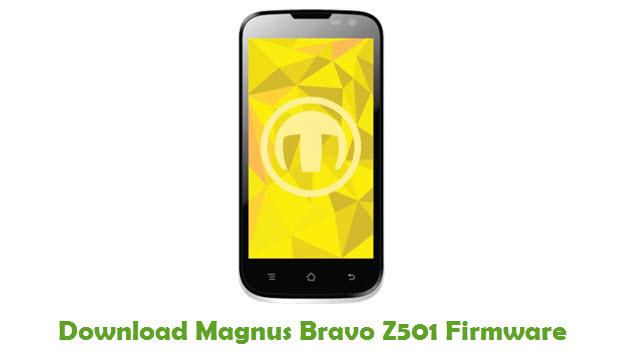 Magnus Bravo Z501 Stock ROM