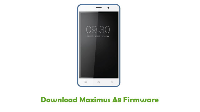 Download Maximus A8 Stock ROM