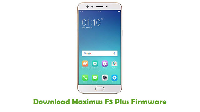 Download Maximus F3 Plus Stock ROM