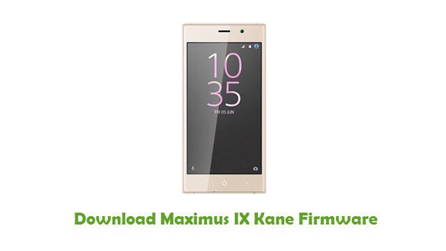Download Maximus IX Kane Stock ROM
