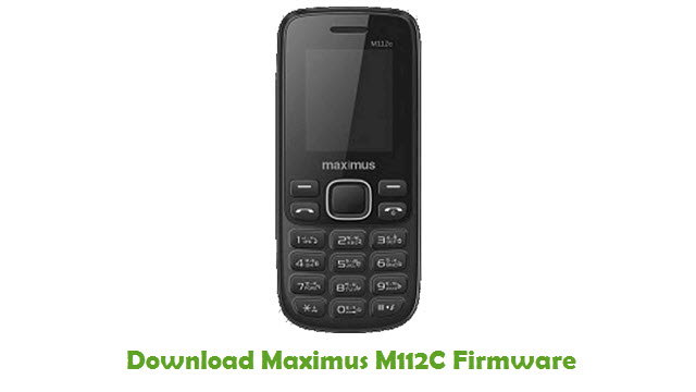 Download Maximus M112C Stock ROM