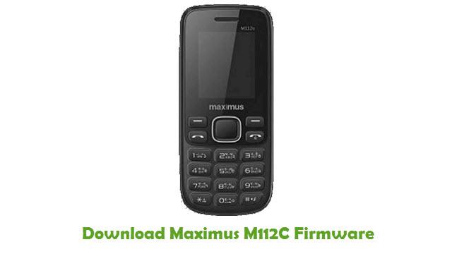 Maximus M112C Stock ROM