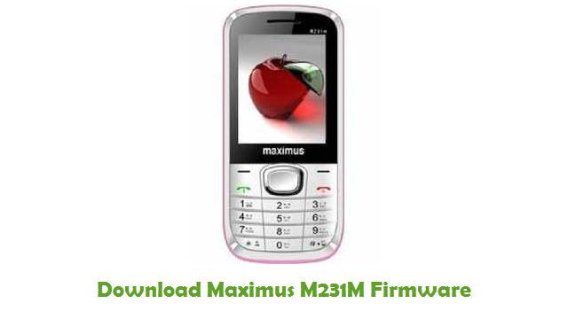 Maximus M231M Stock ROM