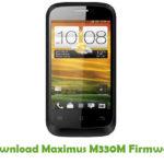 Maximus M330M Firmware