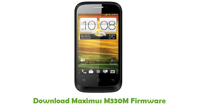 Maximus M330M Stock ROM