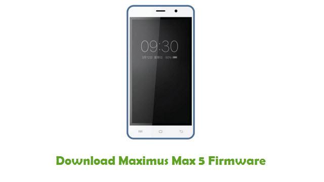 Maximus Max 5 Stock ROM