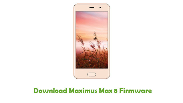 Download Maximus Max 8 Stock ROM