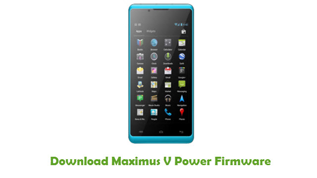 Download Maximus V Power Firmware