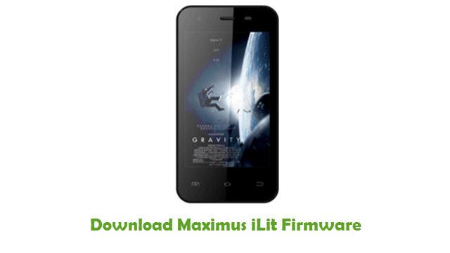Maximus iLit Stock ROM