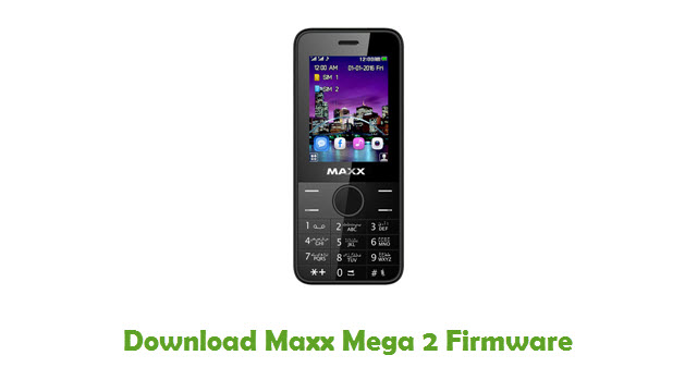 Download Maxx Mega 2 Firmware