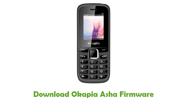 Download Okapia Asha Firmware