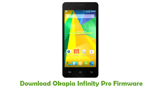 Download Okapia Infinity Pro Firmware
