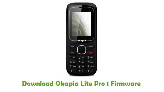 Okapia Lite Pro 1 Stock ROM