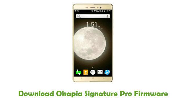 Okapia Signature Pro Stock ROM
