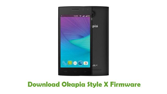 Okapia Style X Stock ROM