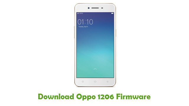 Download Oppo 1206 Stock ROM