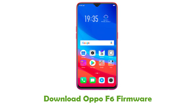 Download Oppo F6 Firmware