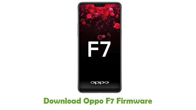 Oppo F7 Stock ROM