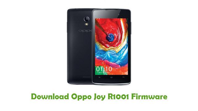 Download Oppo Joy R1001 Firmware