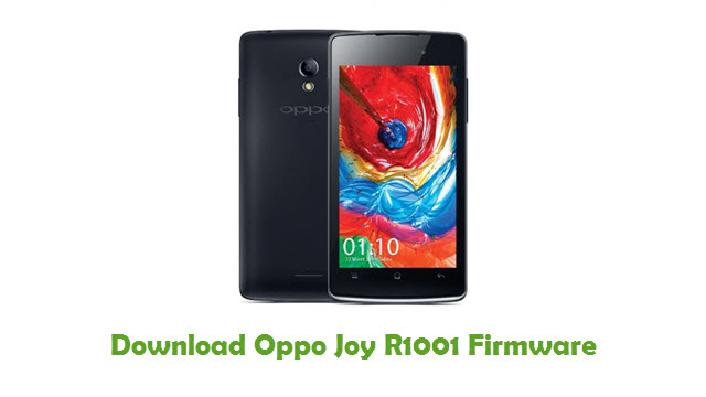 Download Oppo Joy R1001 Stock ROM