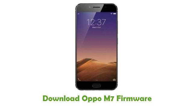Download Oppo M7 Firmware