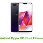 Oppo R15 Dual Firmware