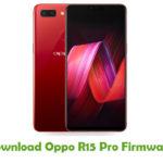 Oppo R15 Pro Firmware