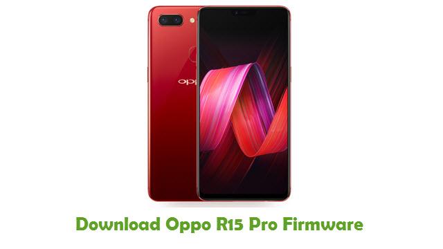 Oppo R15 Pro Stock ROM