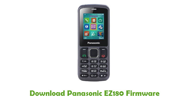 Download Panasonic EZ180 Firmware
