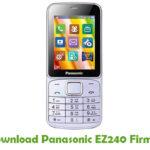 Panasonic EZ240 Firmware