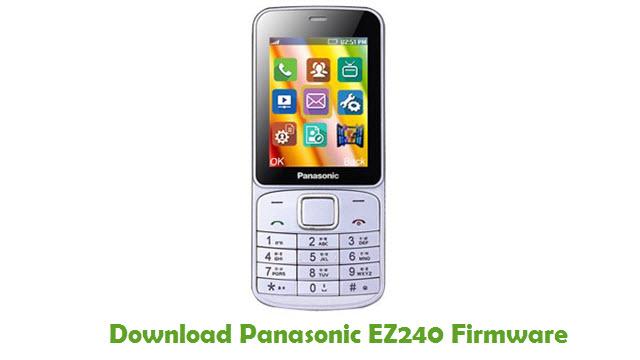 Panasonic EZ240 Stock ROM