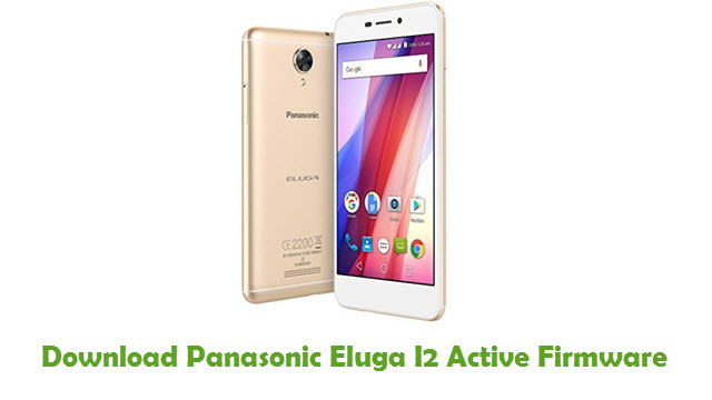 Panasonic Eluga I2 Active Stock ROM