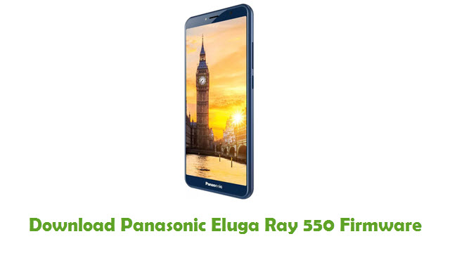 Panasonic Eluga Ray 550 Stock ROM