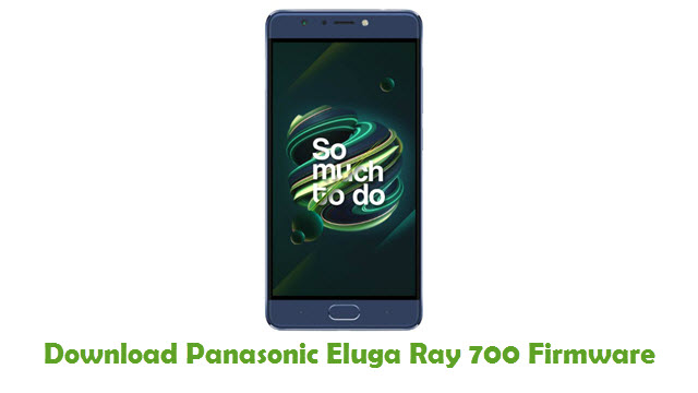 Panasonic Eluga Ray 700 Stock ROM