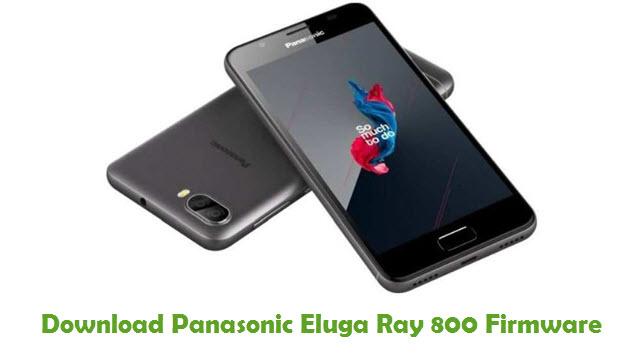Download Panasonic Eluga Ray 800 Firmware