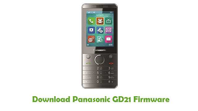 Panasonic GD21 Stock ROM
