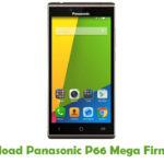 Panasonic P66 Mega Firmware