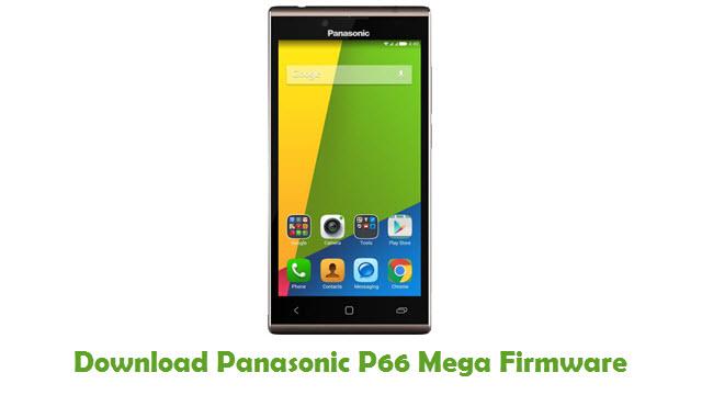 Download Panasonic P66 Mega Firmware