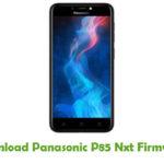 Panasonic P85 Nxt Firmware