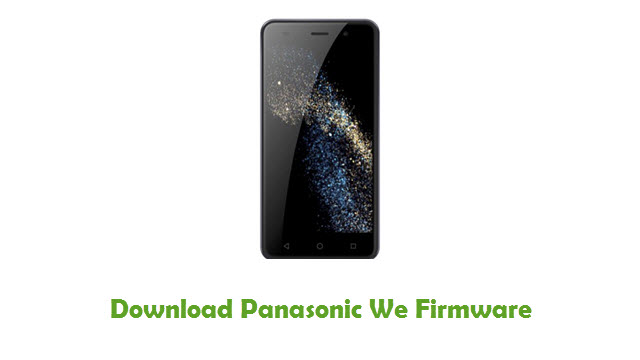 Panasonic We Stock ROM