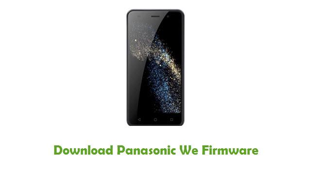 Download Panasonic We Firmware
