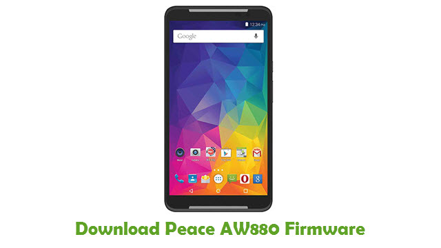 Peace AW880 Stock ROM