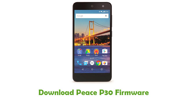 Download Peace P30 Stock ROM